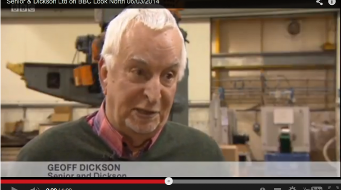 Senior & Dickson Ltd on BBC Look North
